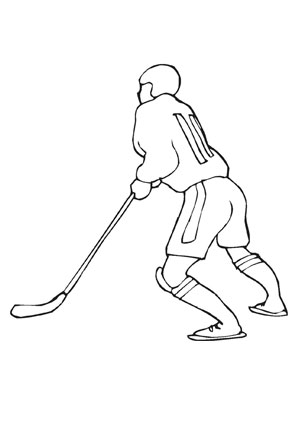 Ausmalbilder eishockey als pdf ausdrucken