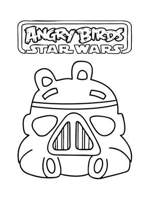 Ausmalbilder Angry Birds Star Wars 14 - Angry Birds Star Wars ...