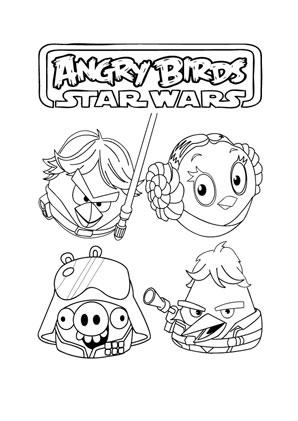 Ausmalbilder Angry Birds Star Wars 17 Angry Birds Star Wars