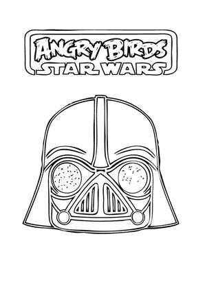 Ausmalbilder Angry Birds Star Wars 8 Angry Birds Star Wars Malvorlagen
