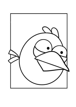 ausmalbild angry birds 1 kostenlos ausdrucken