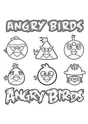 ausmalbild angry birds 11 kostenlos ausdrucken