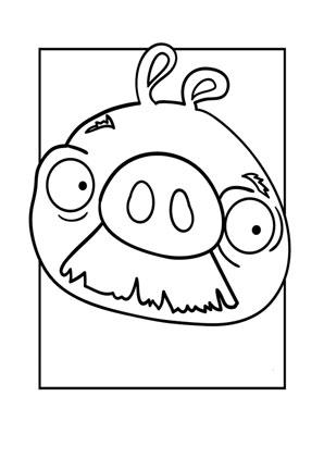ausmalbild angry birds 4 kostenlos ausdrucken