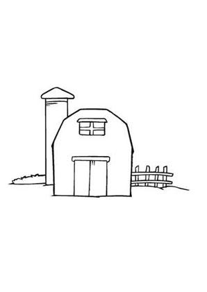 Charmant Bauernhof Scheune Malvorlagen Bilder - Framing Malvorlagen ...