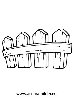Ausmalbilder Zaun Bauernhof Malvorlagen