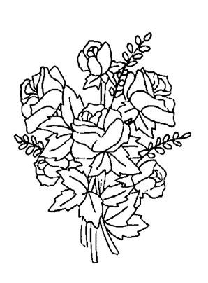 Ausmalbilder Blumen 23 Blumen Malvorlagen