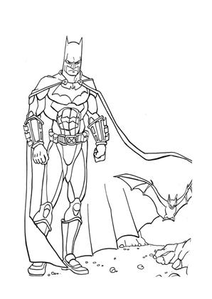 Ausmalbilder Batman 11 Batman Malvorlagen