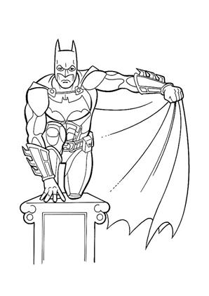 Ausmalbilder Batman 13 Batman Malvorlagen