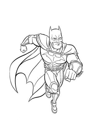 Ausmalbilder Batman 14 Batman Malvorlagen