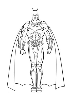 Ausmalbilder Batman 3 Batman Malvorlagen