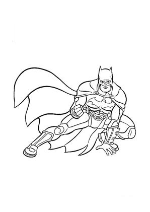 Ausmalbilder Batman 7 - Batman Malvorlagen