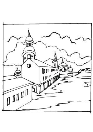 Beste Malvorlagen Kirche Bilder - Framing Malvorlagen ...