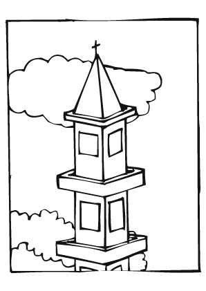 Ausmalbilder Turmspitze T 252 Rme Malvorlagen