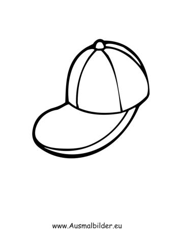 Ausmalbilder Cap   Kleidung Malvorlagen