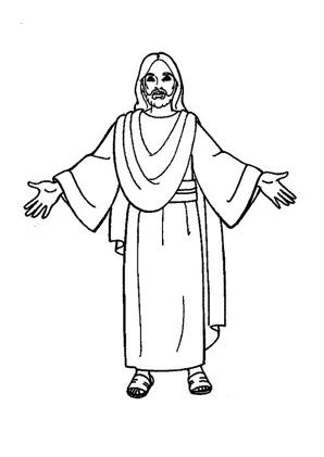 ausmalbilder jesus gekreuzigter jesus jesus 2 jesus kreuz jesus am  - ausmalbilder