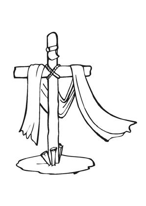 Ausmalbilder Jesus Kreuz - Jesus Malvorlagen