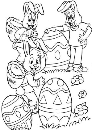 Ausmalbilder Ostern 10 - Ostern Malvorlagen