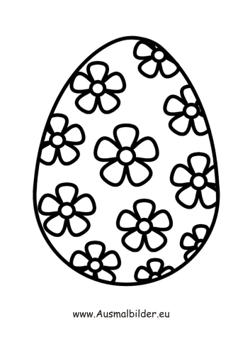Ausmalbilder Ostern Ausmalbild
