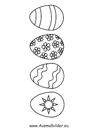 ausmalbilder ostern | ausmalbild ostereier zum ausdrucken