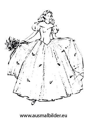 Erfreut Malvorlagen Ariel In Einem Kleid Zeitgenössisch - Entry ...