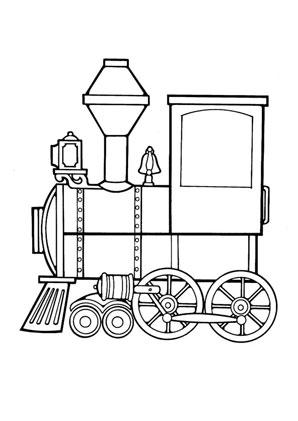 ausmalbild lokomotive kostenlos ausdrucken