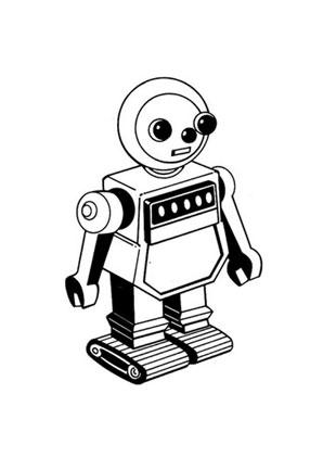 Ausmalbilder Roboter Spielsachen Malvorlagen Ausmalen