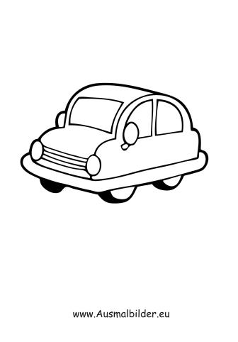 Ausmalbilder Spielzeug Auto Spielsachen Malvorlagen Ausmalen