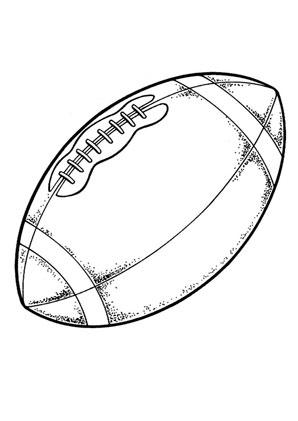 Ausmalbilder Sport Football - Spielsachen Malvorlagen ausmalen