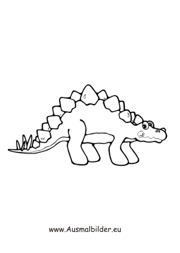 ausmalbilder kleiner dinosaurier  dinosaurier malvorlagen