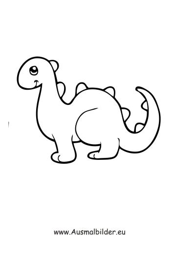 Ausmalbild Spielzeug Dinosaurier Zum Ausdrucken