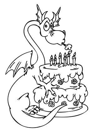 Tolle Malvorlagen Zum Geburtstag Bilder - Ideen färben - blsbooks.com