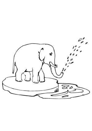 Schön Mama Und Baby Elefant Malvorlagen Galerie - Framing ...