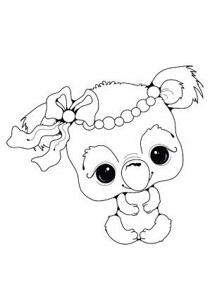 ausmalbilder süsses koalakind - koalas malvorlagen