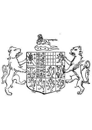 Ausmalbilder Löwen Und Wappen Löwen Malvorlagen