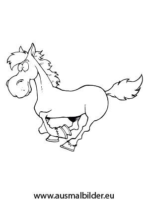 Ausmalbilder Pferde Comic ~ Die Beste Idee Zum Ausmalen von Seiten