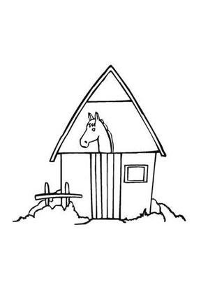 ausmalbilder bauernhof pferde - kinder zeichnen und ausmalen