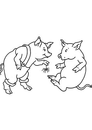 Bauernhof Logo Schweinekopf Schwein Schweinekopf