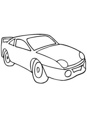 Ausmalbild Auto 19 Kostenlos Ausdrucken