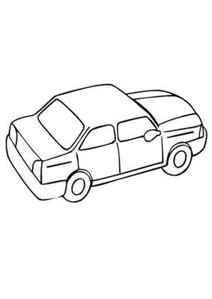 ausmalbild auto 2 kostenlos ausdrucken
