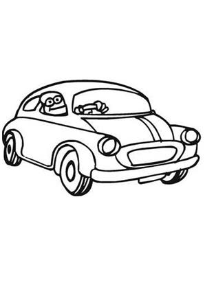 ausmalbild auto 23 kostenlos ausdrucken