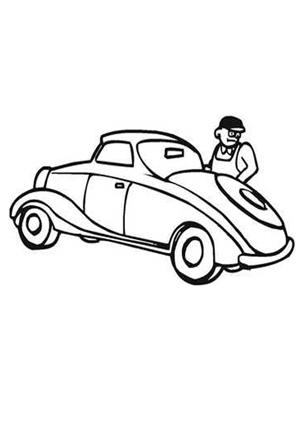 ausmalbild auto 28 kostenlos ausdrucken