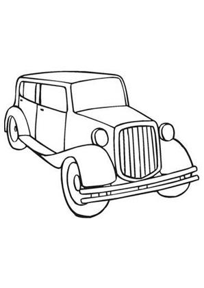 ausmalbilder auto oldtimer 20 - oldtimer malvorlagen