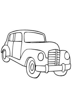 Ausmalbilder Auto Oldtimer 25 Oldtimer Malvorlagen