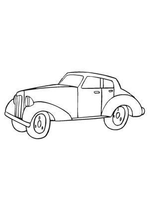 ausmalbilder auto oldtimer 7 - oldtimer malvorlagen