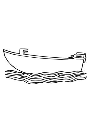 Motorboot malvorlage  Ausmalbilder motorboot - Transport Malvorlagen