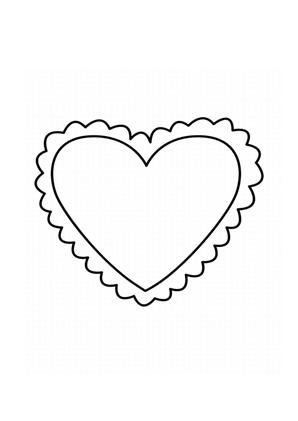 Ausmalbilder Herz 3 Valentinstag Ausmalbilder Ausmalen