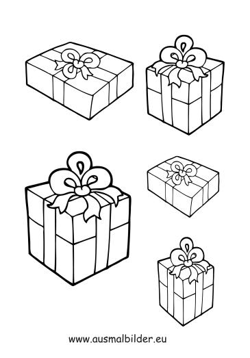 ausmalbilder weihnachtsgeschenke weihnachtsgeschenke. Black Bedroom Furniture Sets. Home Design Ideas