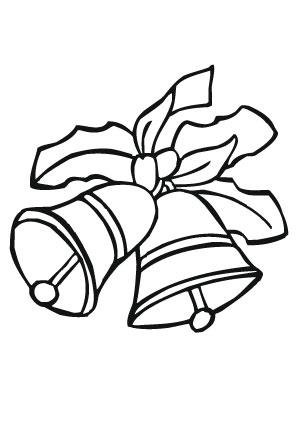 ausmalbilder weihnachtsglocken am heilig abend - weihnachtsglocken malvorlagen