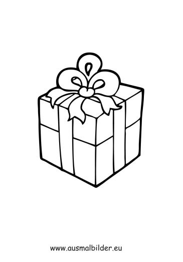 ausmalbilder geschenk weihnachten malvorlagen. Black Bedroom Furniture Sets. Home Design Ideas