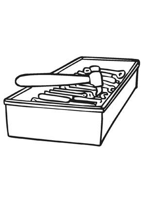 ausmalbilder werkzeugkiste werkzeuge malvorlagen. Black Bedroom Furniture Sets. Home Design Ideas
